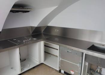 Stainless Steel Kitchen Worktop Richmond