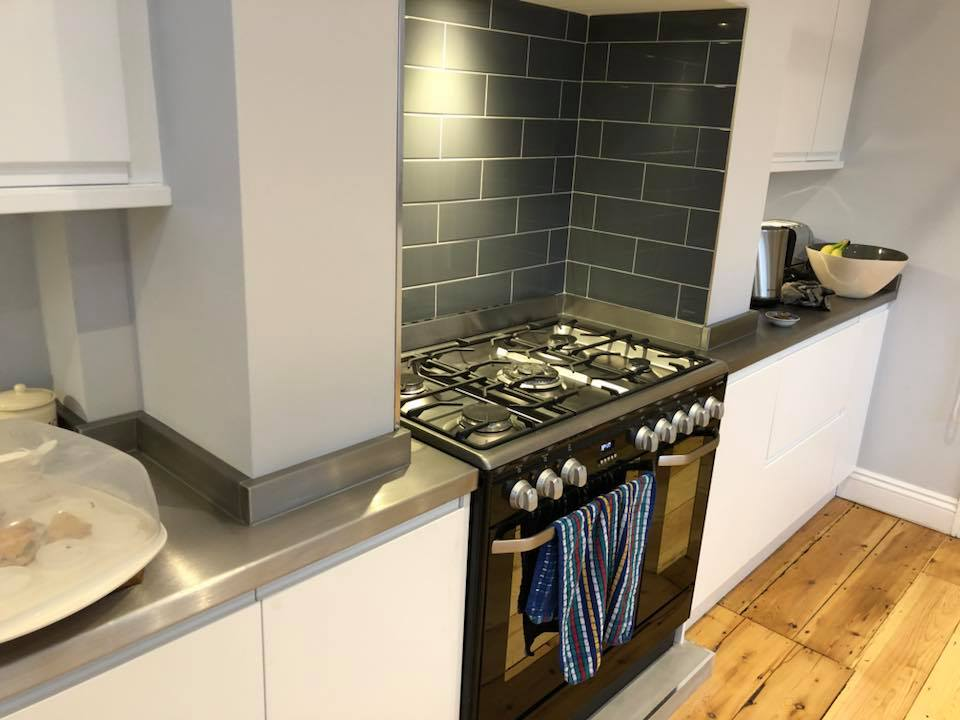 Stainless Steel Kitchen Brighton